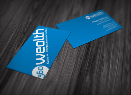Business Cards blue 1
