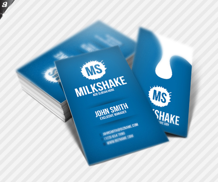 Business Cards blue 22