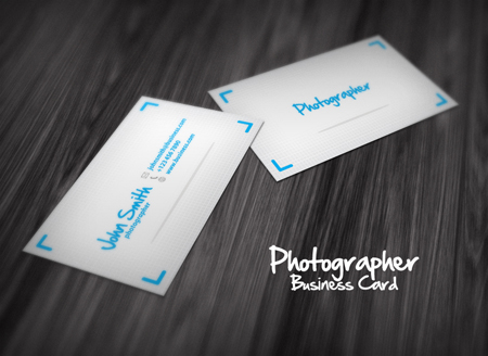 Business Cards blue 25