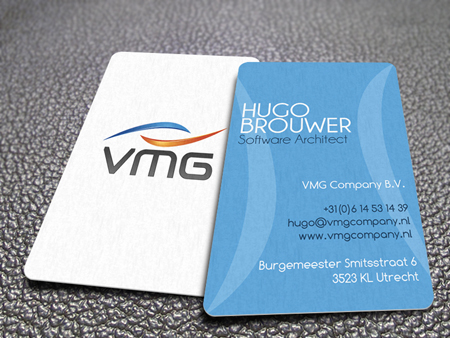 Business Cards blue 27
