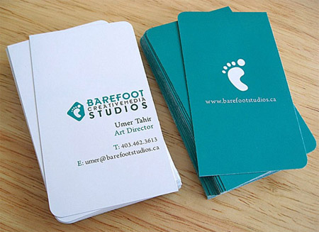 Business Cards blue 36