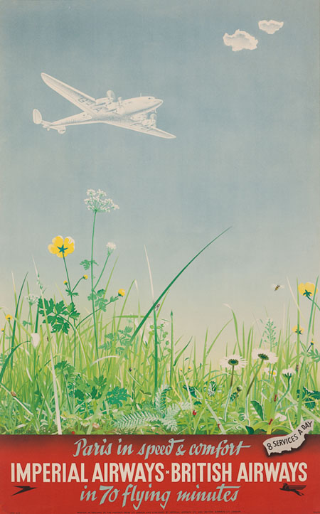 Vintage Airline Posters ba3