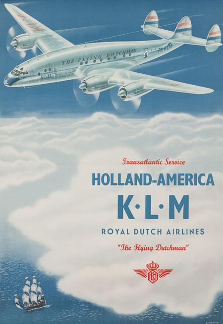 Vintage Airline Posters klm 2