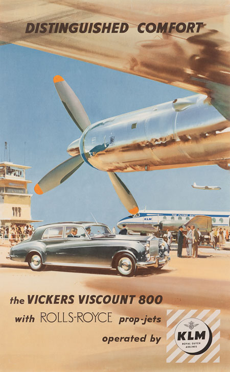 Vintage Airline Posters klm 3