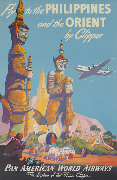 Vintage Airline Posters panam10