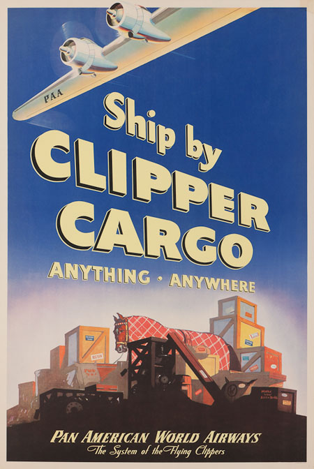 Vintage Airline Posters panam2