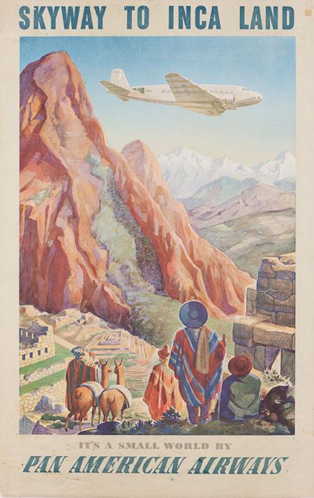 Vintage Airline Posters panam8
