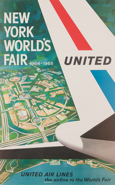 Vintage Airline Posters united5