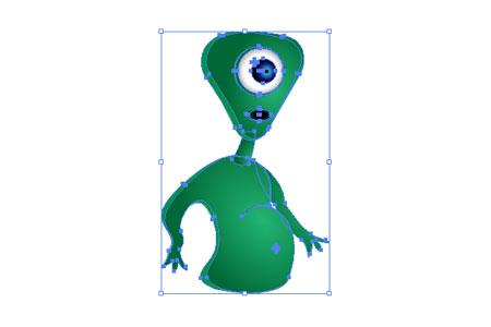 Alien Character - step 27