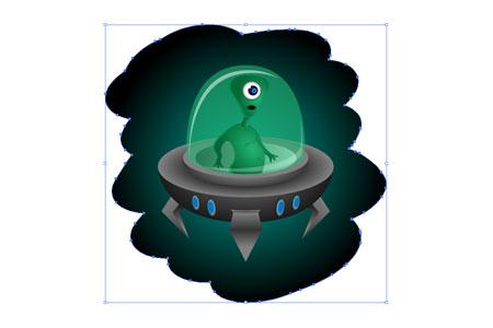 Alien Character - step 30