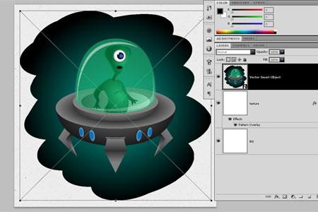 Alien Character - step 32