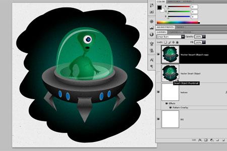 Alien Character - step 33