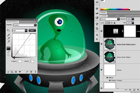 Alien Character - step 35