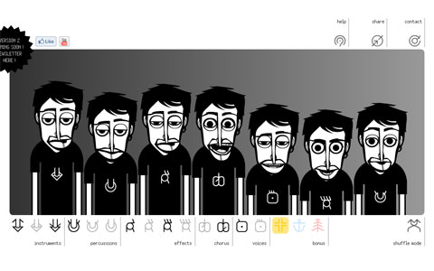 Animated Interactive Sites Incredibox