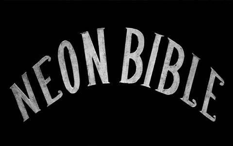 Animated Interactive Sites Neon Bible