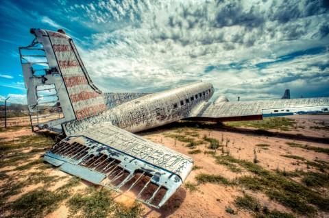 Graffiti WWII Airplanes RETNA