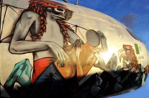 Graffiti WWII Airplanes SANER