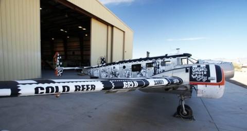 Graffiti WWII Airplanes FAILE