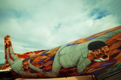 Graffiti WWII Airplanes NUNCA