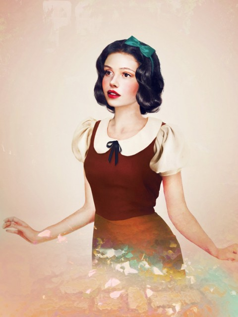 """Real Life Disney Characters """"Snow White"""""""