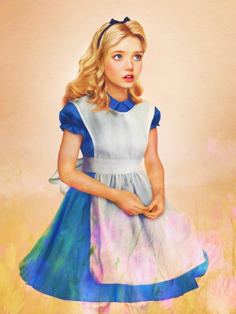"Real Life Disney Characters ""Alice"""