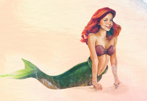 "Real Life Disney Characters ""Little Mermaid"""