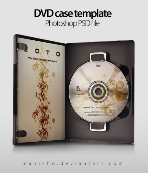Free Templates For Busy Designer - DVD Case+Art - PSD file