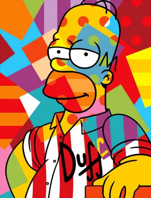 Lobo - Homer Simpson