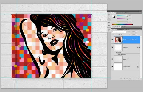 Pop Art Poster Step 33