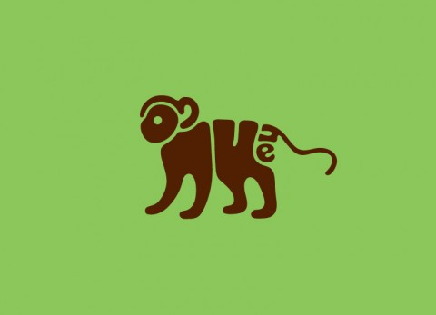 Word Animals - Monkey