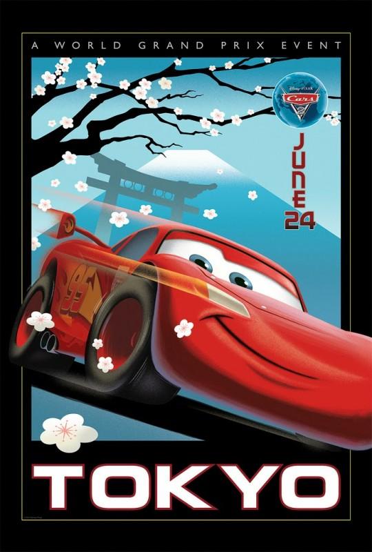 Pixar Posters by Eric Tan 1