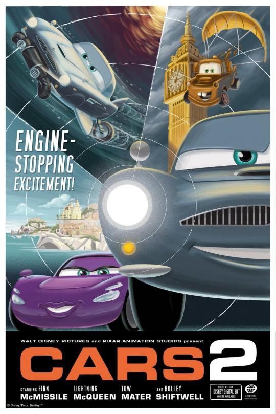 Pixar Posters by Eric Tan 4