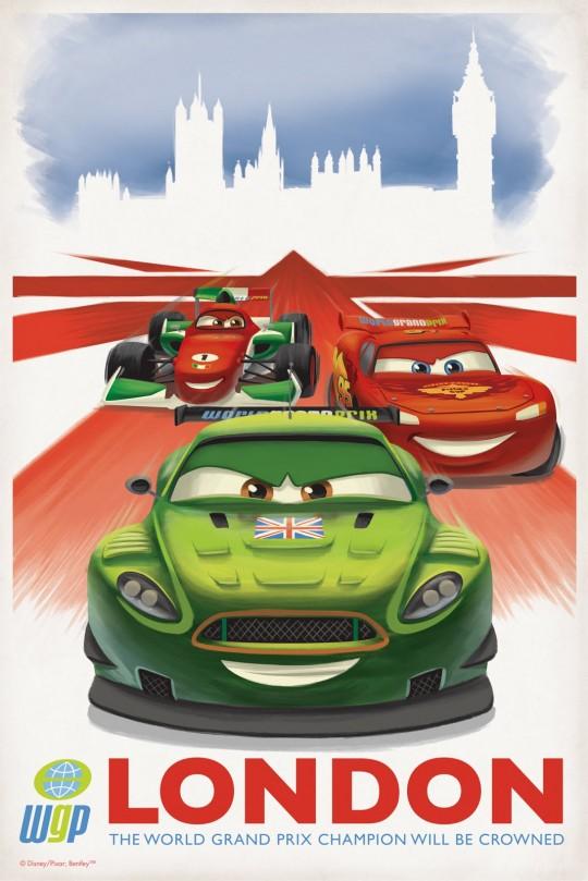 Pixar Posters by Eric Tan 5
