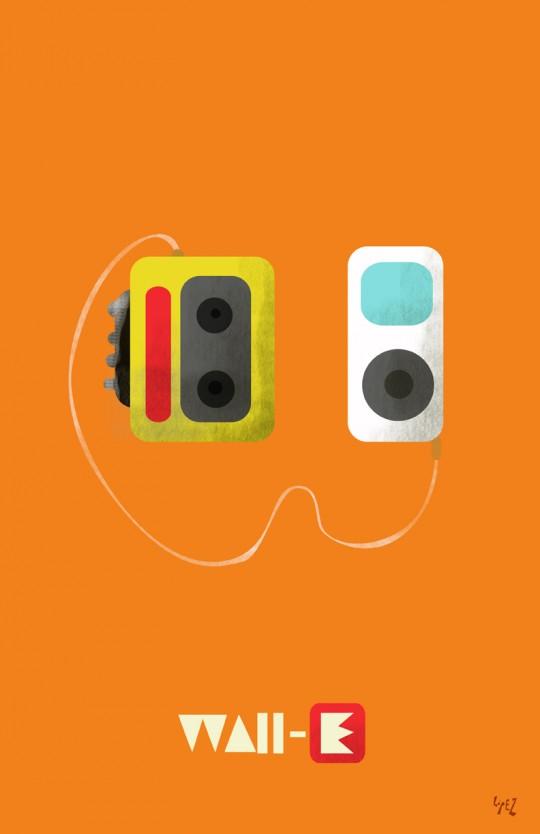 Pixar Posters by Lopez Grafico 2