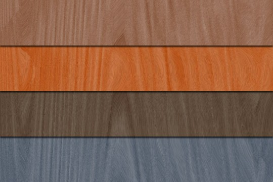Photoshop Quick Tip - Wood Texture Hue Previews