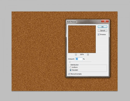 Photoshop Quick Tip - Wood Texture Step 2