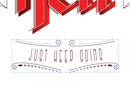 Typography Poster Step 20