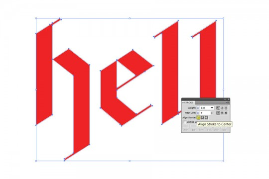 Typography Poster Step 3