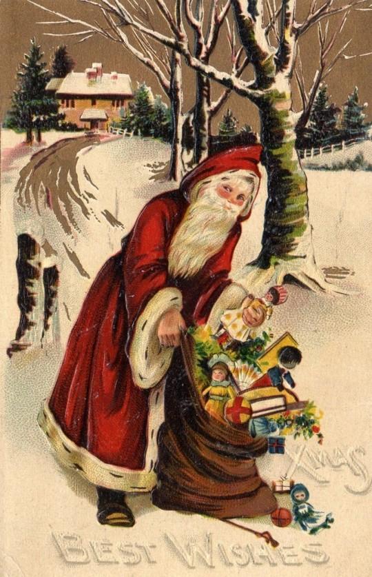 Vintage Christmas Postcards 1