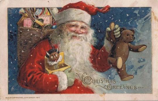 Vintage Christmas Postcards 13