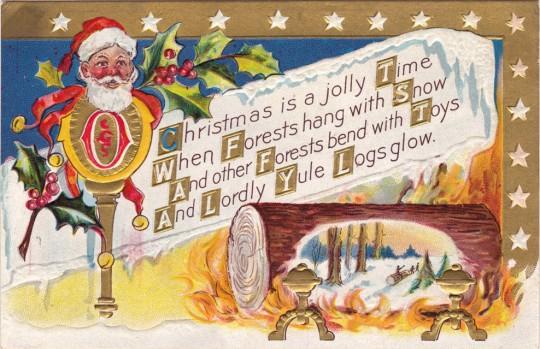 Vintage Christmas Postcards 17