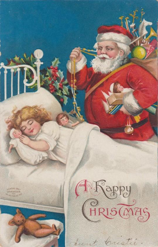 Vintage Christmas Postcards 3