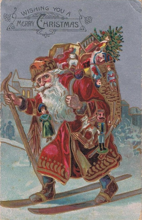 Vintage Christmas Postcards 4