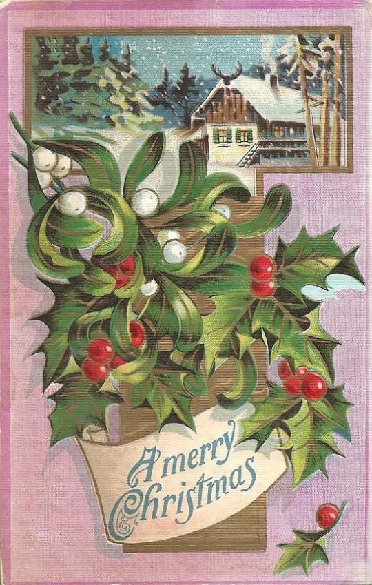 Vintage Christmas Postcards 5