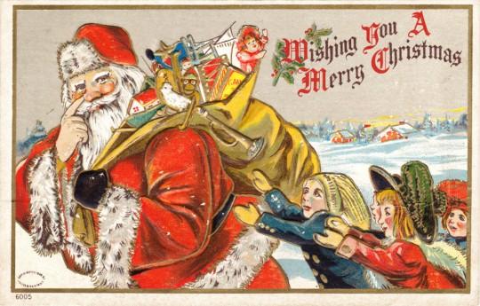 Vintage Christmas Postcards 6