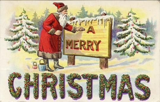 Vintage Christmas Postcards 7