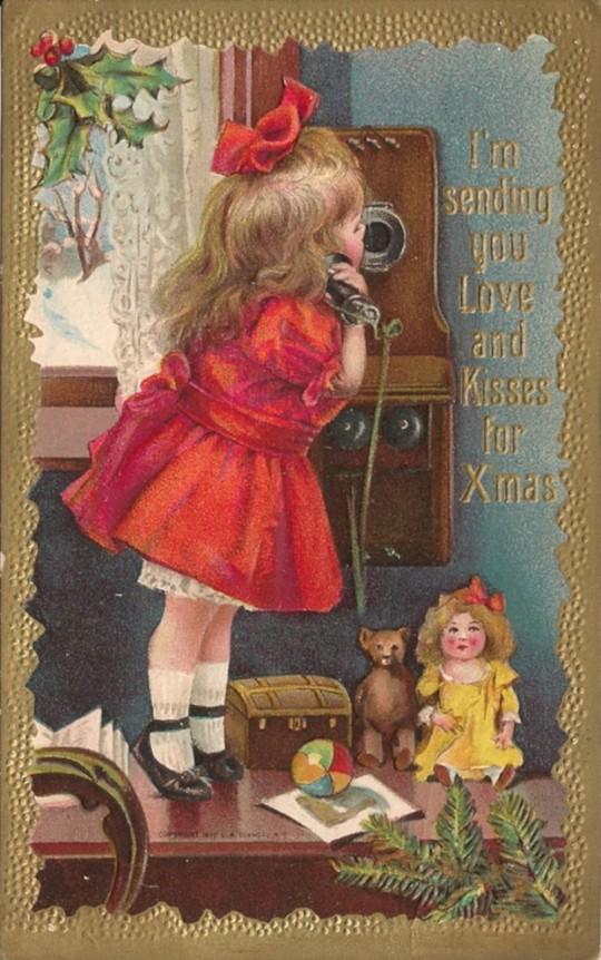 Vintage Christmas Postcards 8