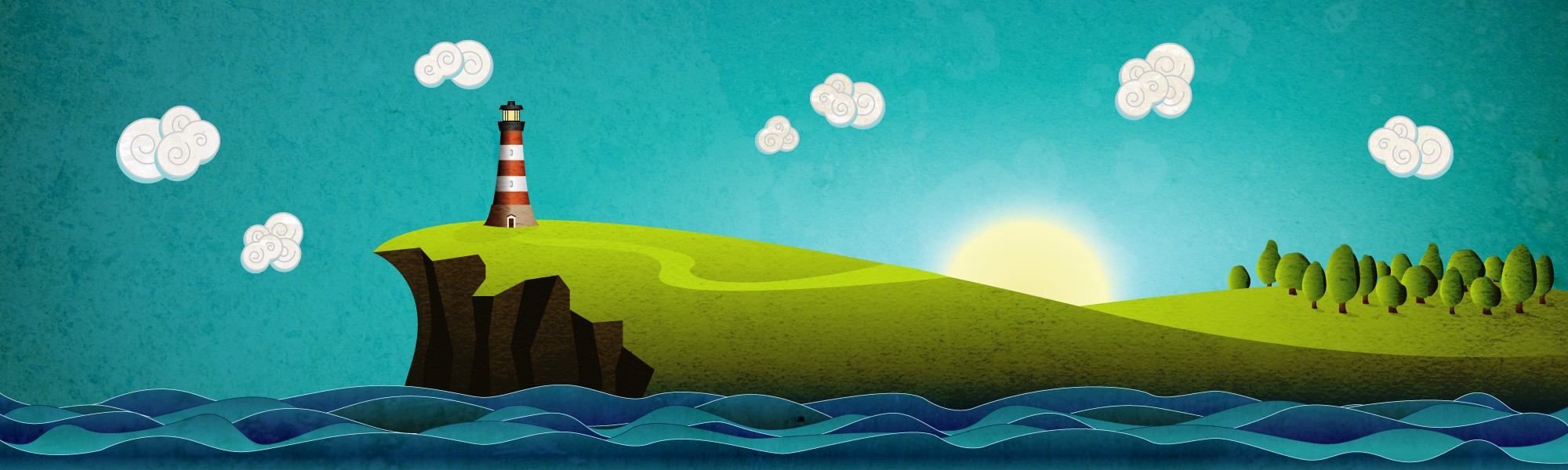 How To Design A Picturesque Coastal Landscape Using Illustrator And Photoshop Aviatstudios Com,John F Kennedy Junior Young