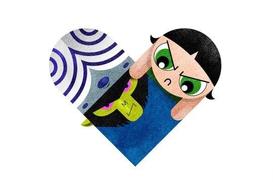 Dan Matutina - Versus Hearts Powerpuff Girls