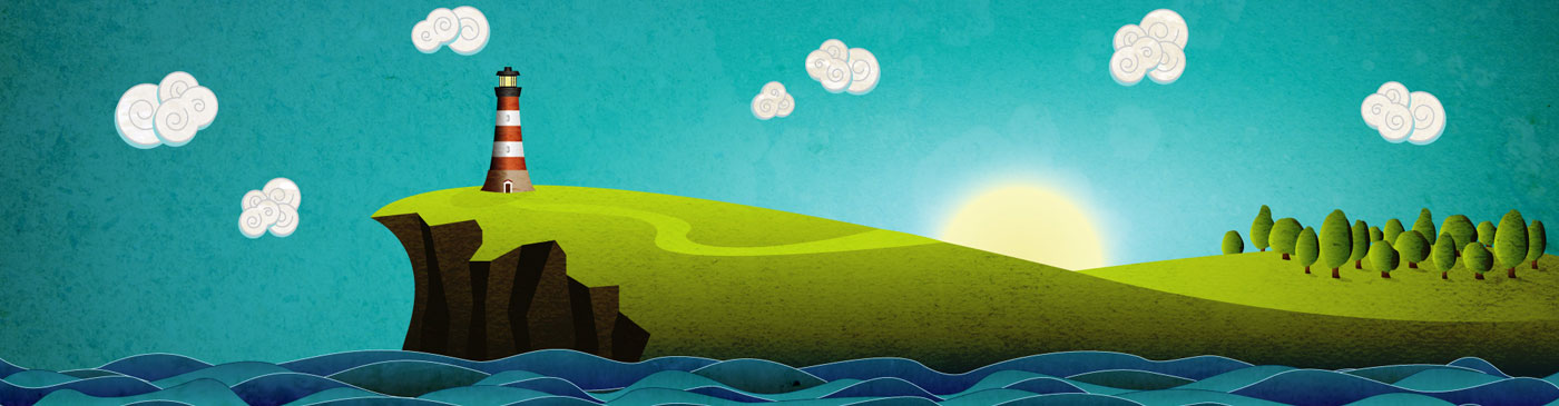 Featured Image Coastal Illustration